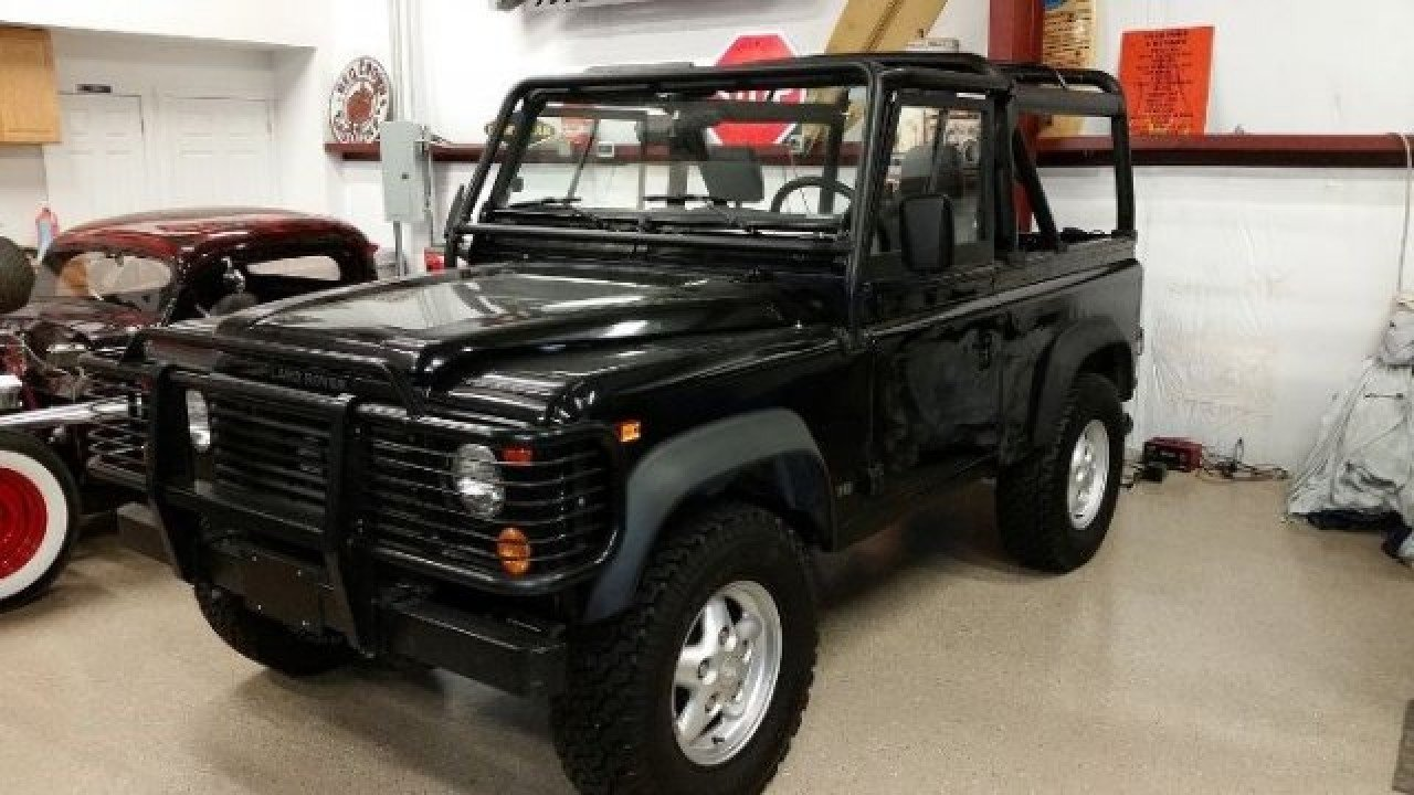 1995 land rover defender for sale near cadillac, michigan 49601