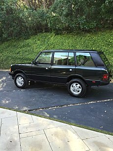 1995 Land Rover Range Rover for sale 100758611
