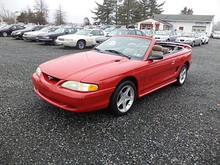 1996 Ford Mustang GT Convertible for sale 100870145