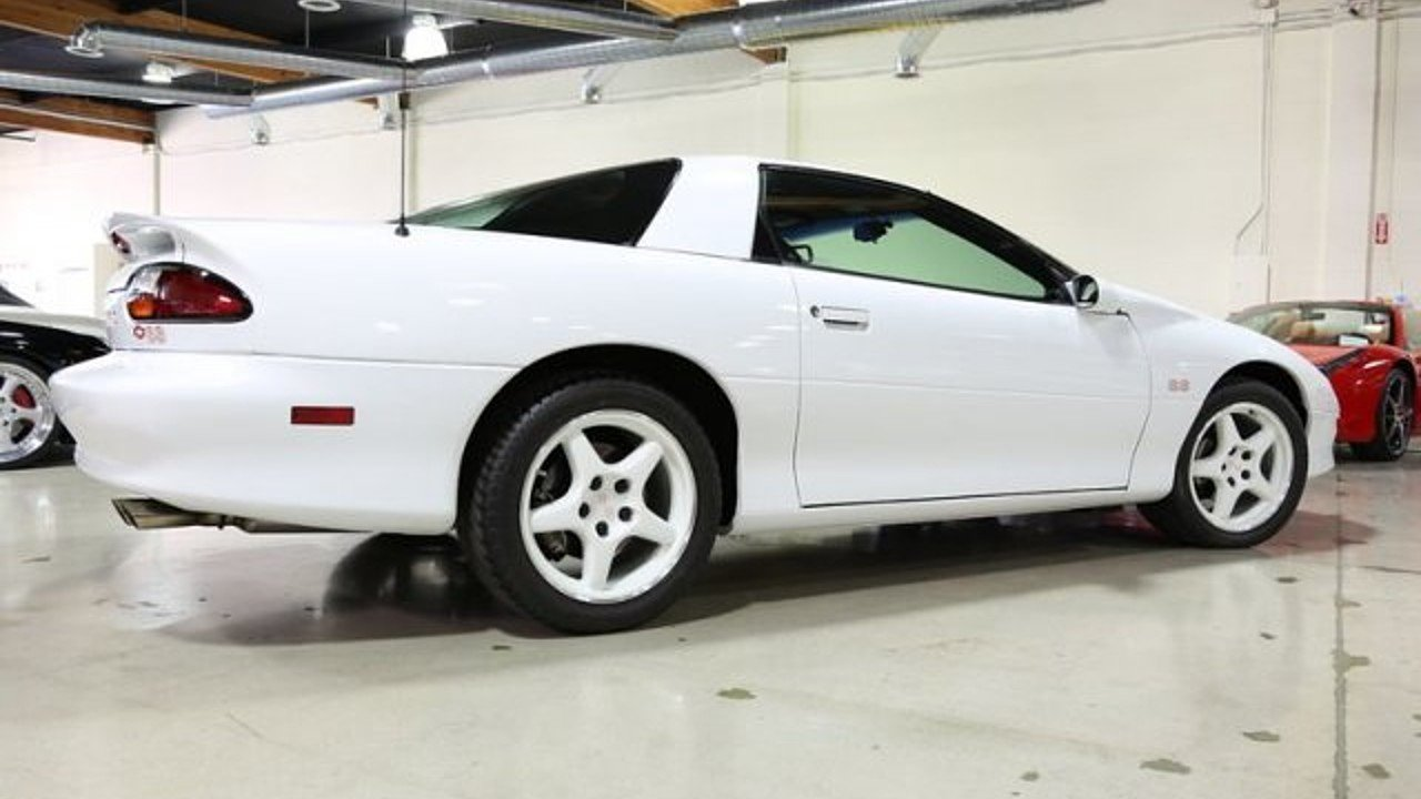 1997 Camaro Z28 30th Anniversary Edition Production Numbers
