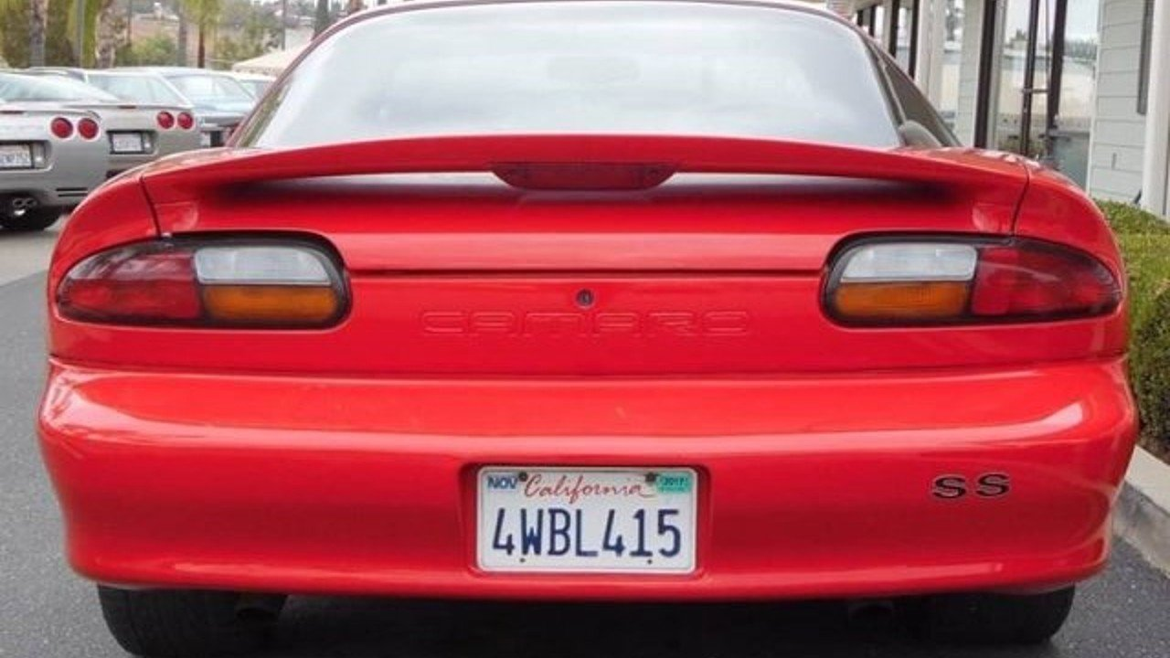 Camaro 1997 chevrolet camaro coupe : 1997 Chevrolet Camaro Z28 Coupe for sale near Redlands, California ...