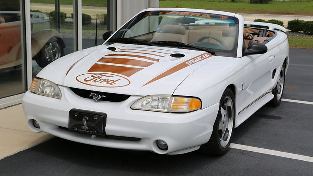 1997 Ford Mustang Cobra Convertible for sale 100883005