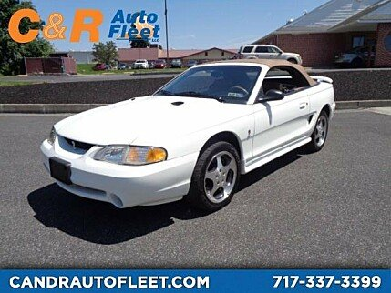 1997 Ford Mustang Cobra Convertible for sale 101019103