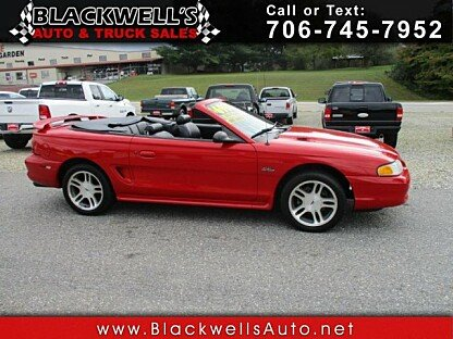 1997 Ford Mustang GT Convertible for sale 101041800