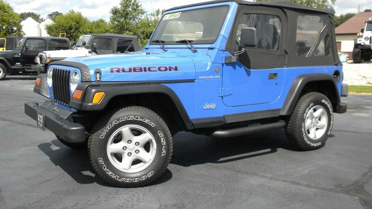 1997 Jeep Wrangler for sale 100787807