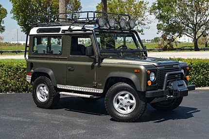 Land rover defender classics for sale classics on autotrader for Land rover tarbes garage moderne