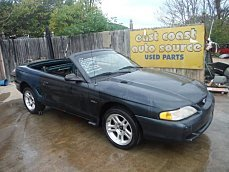 1998 Ford Mustang GT Convertible for sale 100292366