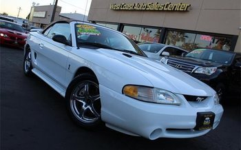 1998 Ford Mustang Cobra Convertible for sale 100839557