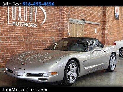 1999 Chevrolet Corvette Convertible for sale 100892257