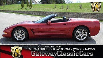 1999 Chevrolet Corvette Convertible for sale 100949420