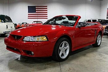 1999 Ford Mustang Cobra Convertible for sale 100797696
