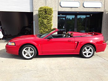 1999 Ford Mustang Cobra Convertible for sale 100835460