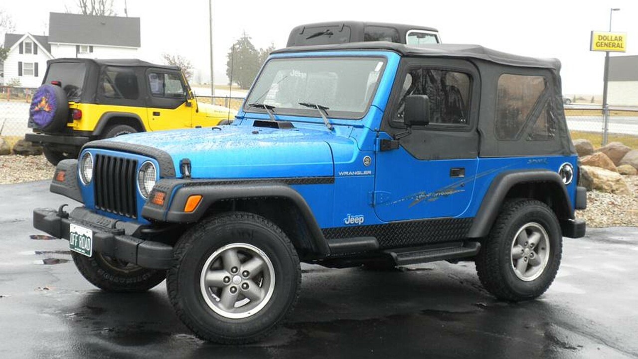 1999 Jeep Wrangler for sale 100842095