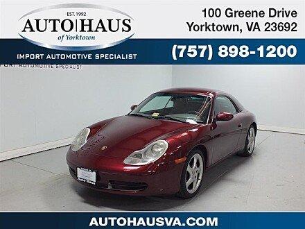 1999 Porsche 911 Cabriolet for sale 100927730