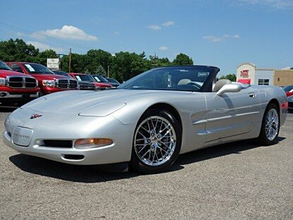 1999 chevrolet Corvette Convertible for sale 101000718
