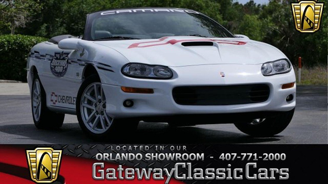 2000 Chevrolet Camaro Z28 Convertible for sale 100973928