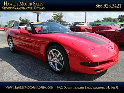 2000 Chevrolet Corvette Convertible for sale 100983902