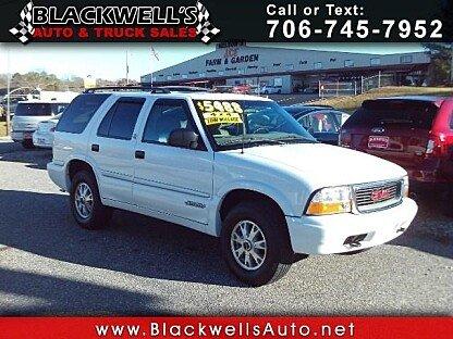 2000 GMC Jimmy 4WD 4-Door for sale 100832807