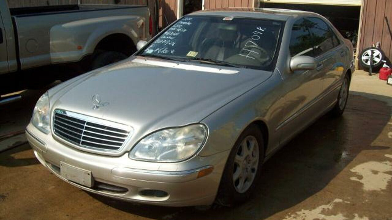 2000 Mercedes-Benz S500 for sale 100292611