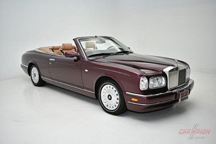 2000 Rolls-Royce Corniche for sale 100879118
