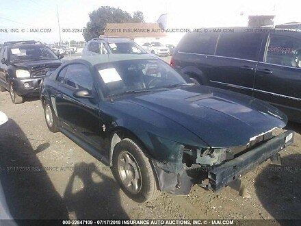 2000 ford Mustang Coupe for sale 101015991