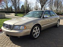 2001 Audi S8 for sale 100746315