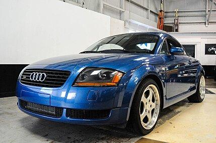 2001 Audi TT 1.8T quattro Coupe w/ 225hp for sale 100727091