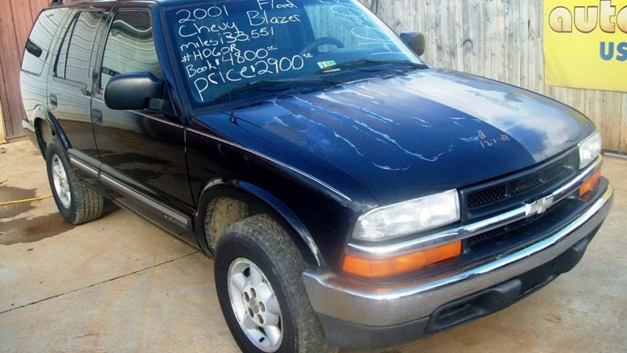 2001 Chevrolet Blazer 4WD 4-Door for sale 100292691