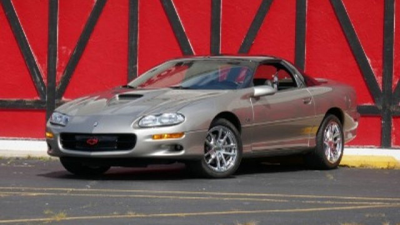 2001 Chevrolet Camaro Z28 Coupe for sale 100901084