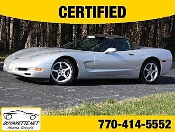 2001 Chevrolet Corvette Convertible for sale 100117641