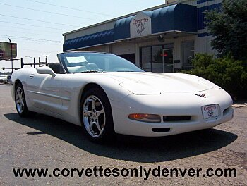 2001 Chevrolet Corvette Convertible for sale 100779144