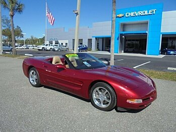 2001 Chevrolet Corvette Convertible for sale 100845845
