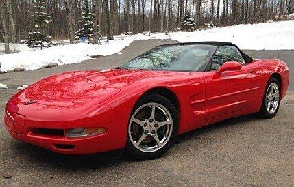 2001 Chevrolet Corvette for sale 100751243