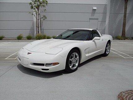 2001 Chevrolet Corvette Coupe for sale 100873230