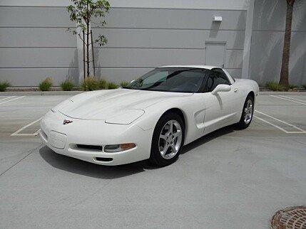 2001 Chevrolet Corvette Coupe for sale 100942889