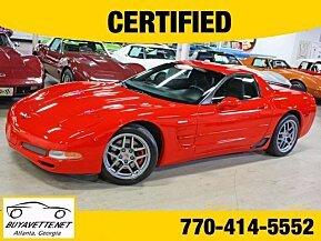 2001 Chevrolet Corvette Z06 Coupe for sale 100994578