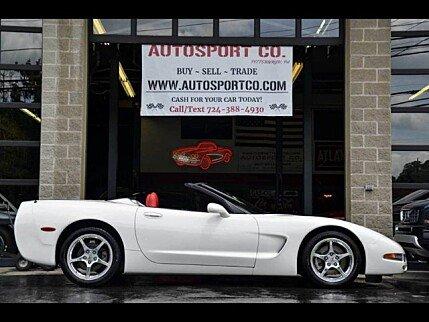 2001 Chevrolet Corvette Convertible for sale 101000379