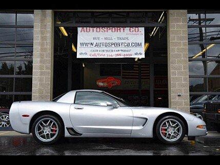 2001 Chevrolet Corvette Z06 Coupe for sale 101044099