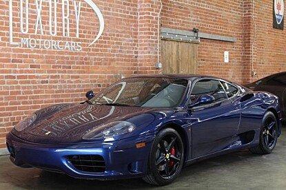 2001 Ferrari 360 Modena for sale 100815181