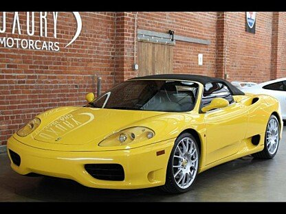 2001 Ferrari 360 Spider for sale 100820462