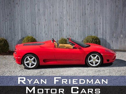 2001 Ferrari 360 Spider for sale 100976302
