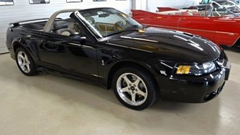 2001 Ford Mustang Cobra Convertible for sale 100795786