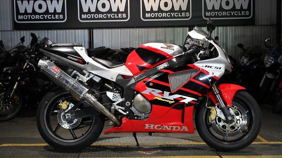 2001 Honda RC51 for sale 200550185