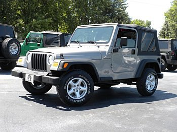 2001 Jeep Wrangler for sale 100727633