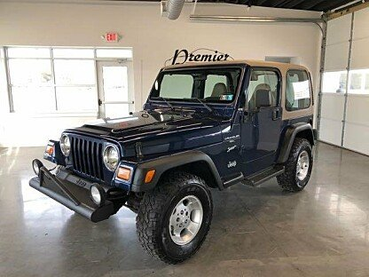 2001 Jeep Wrangler 4WD Sport for sale 100962234