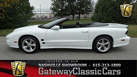 2001 Pontiac Firebird Trans Am Convertible for sale 100964971