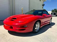 2001 Pontiac Firebird Trans Am Convertible for sale 100988013