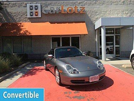 2001 Porsche 911 Cabriolet for sale 101003373