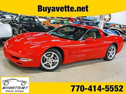 2001 chevrolet Corvette Coupe for sale 101023160