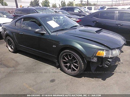 2001 ford Mustang GT Coupe for sale 101016026